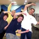 Cチーム。小椎尾(妻)、犬塚さんがいるチームは全ゲーム優勝しました。