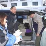 西さんの愛車で菅平高原にやってきました
