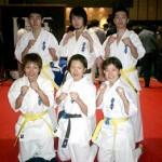 今大会に出場した選手達。左上から須川選手、矢部選手、小椎尾(夫)選手、下段左から小椎尾(妻)選手、進選手、山集選手。