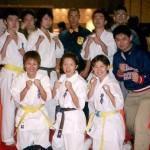 セコンドについてくれた吉次さん(上段右端)、沼田さん(中段右端)ありがとうございました。