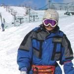 山口さんもスノーボードは初挑戦