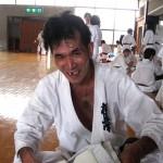 強化稽古を終え、充実した表情の松田4級。