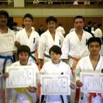 左上より大原選手、吉次選手、本橋選手、相川選手、左下より小椎尾選手、進選手、小寺選手