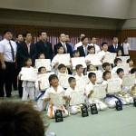 少年部の表彰式