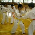 田口支部長による「突きの打ち方」テクニックセミナー