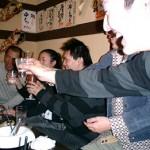 2次会は日本酒&焼酎中心でカンパイ!