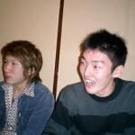 大学生コンビの武井君と須川君。