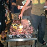 大量の肉!肉!肉!