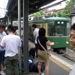 ホテルを後にし、江ノ電で鎌倉駅に向かいました。