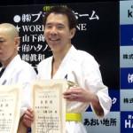 佐藤弘典 壮年40歳以上の部 三位