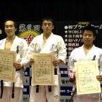 全日本ウェイト制選抜軽量級 小山内紘介 準優勝、石本甲六 三位入賞