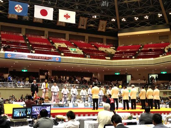 第44回全日本空手道選手権大会 表彰式