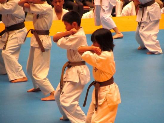 第44回全日本空手道選手権大会 少年部演武