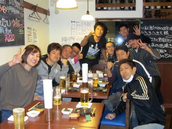 極真第44回全日本空手道選手権大会 お疲れさま会
