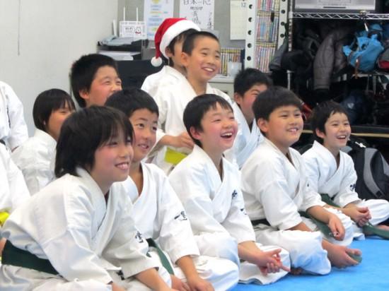 極真空手溝の口道場 少年部クリスマス会5