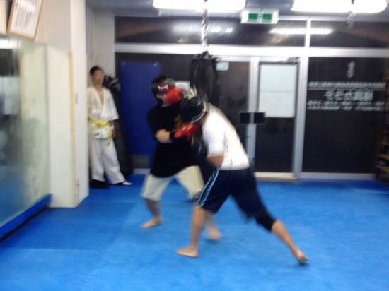 極真会館川崎溝口支部 20131202 格闘技クラス