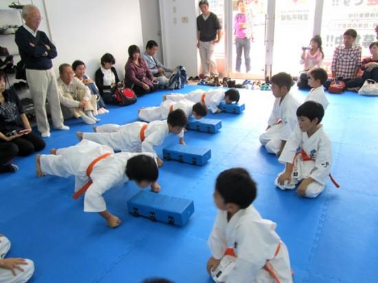 20141012 極真会館川崎溝口支部 少年部昇級審査会4