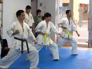 20141012 極真会館川崎溝口支部 一般部昇級・昇段審査4