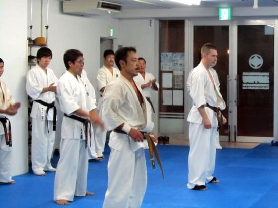 20141012 極真会館川崎溝口支部 一般部昇級・昇段審査6