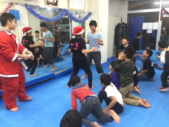 2016極真会館川崎溝口支部クリスマス会1